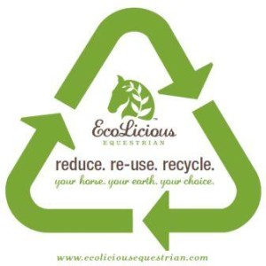 reduce reuse recycle ecolicious equestrian